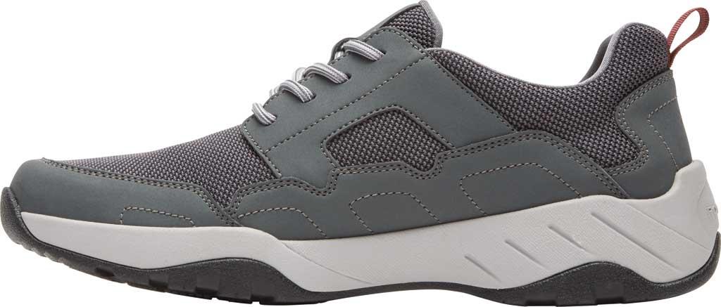 Men's Rockport XCS Riggs Lace Up Shoe, Magnet PU/Mesh, large, image 3