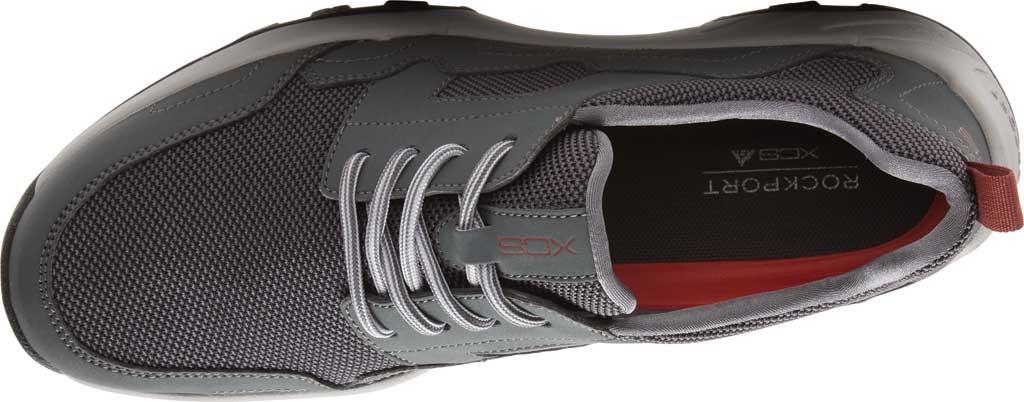 Men's Rockport XCS Riggs Lace Up Shoe, Magnet PU/Mesh, large, image 5