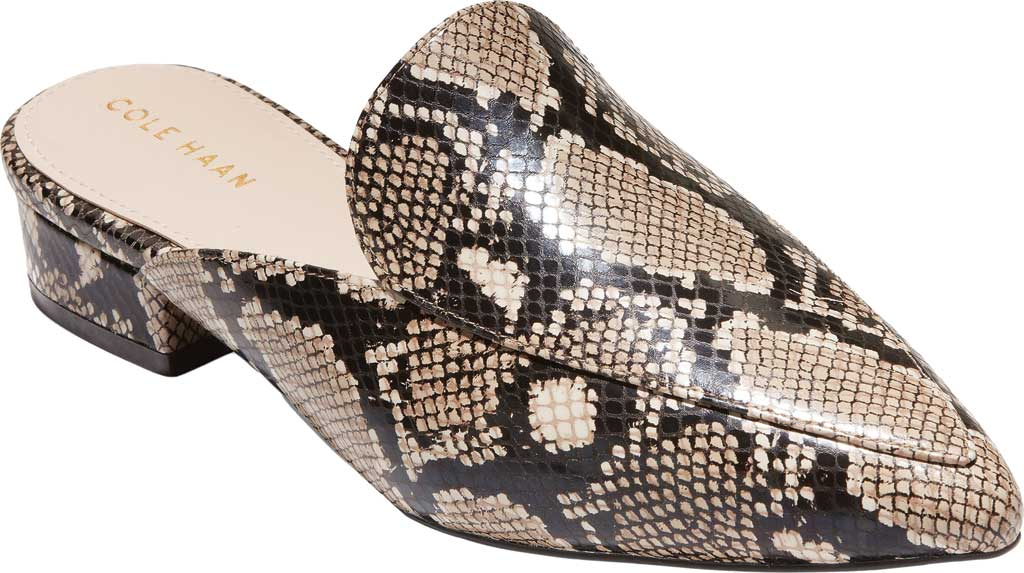 Women's Cole Haan Piper Mule, Amphora Exotic Snake Leather, large, image 1