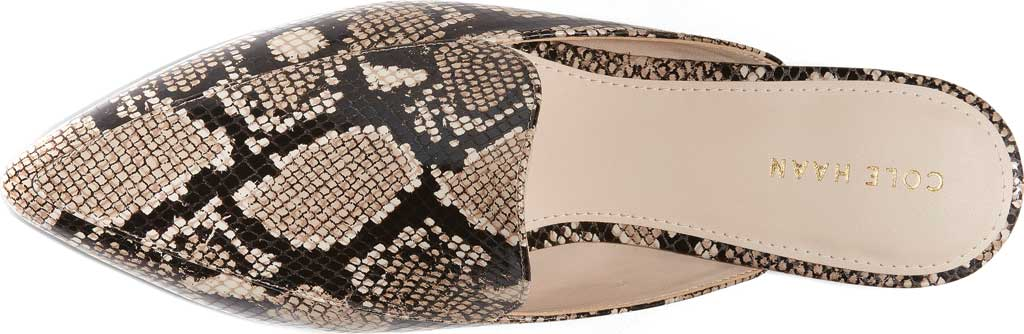 Women's Cole Haan Piper Mule, Amphora Exotic Snake Leather, large, image 4