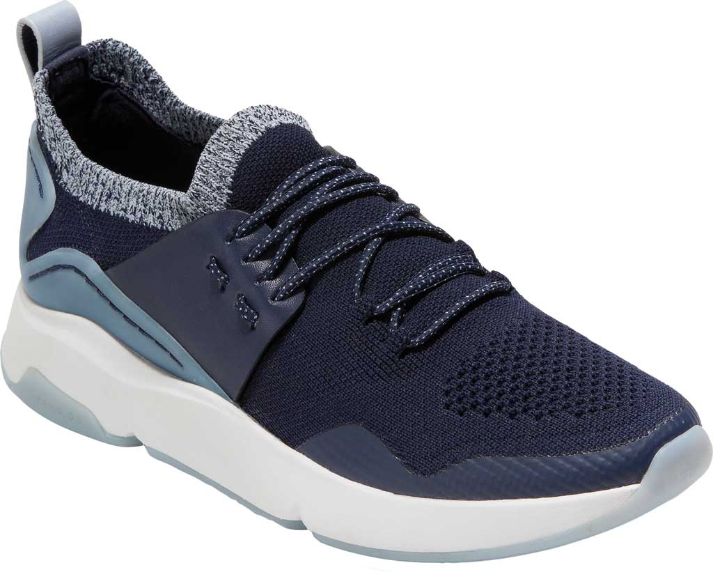 Women's Cole Haan ZEROGRAND All Day Trainer, Maritime Blue Knit/Leather, large, image 1
