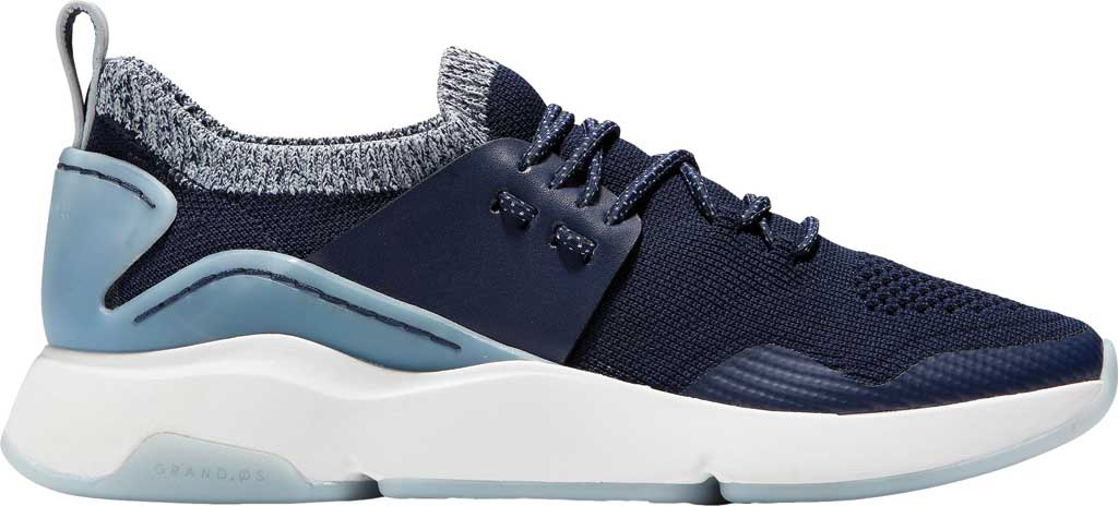 Women's Cole Haan ZEROGRAND All Day Trainer, Maritime Blue Knit/Leather, large, image 2