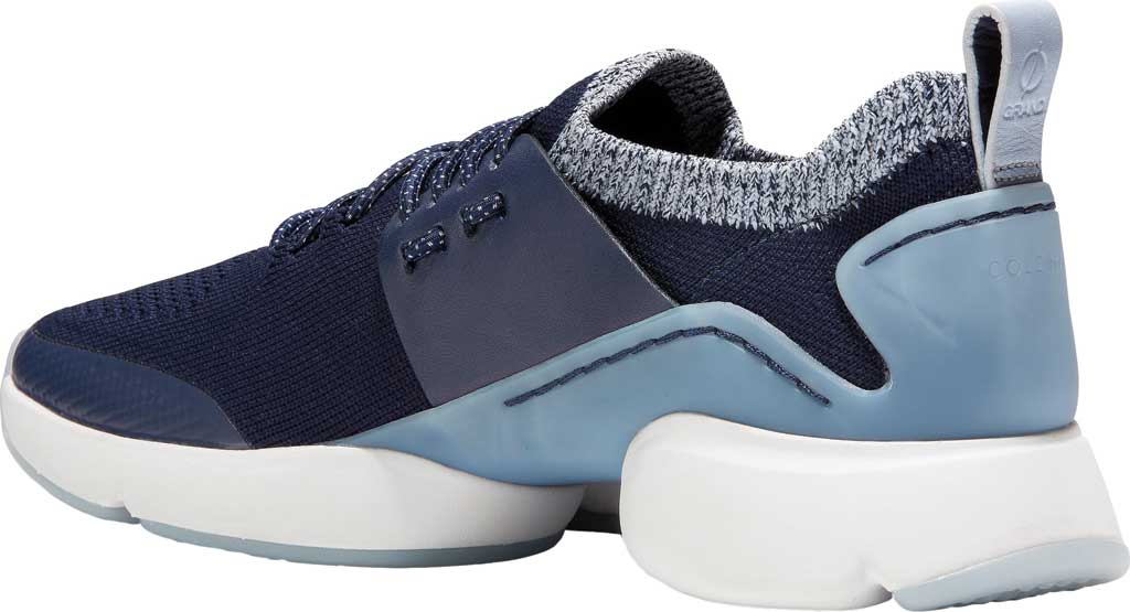 Women's Cole Haan ZEROGRAND All Day Trainer, Maritime Blue Knit/Leather, large, image 3
