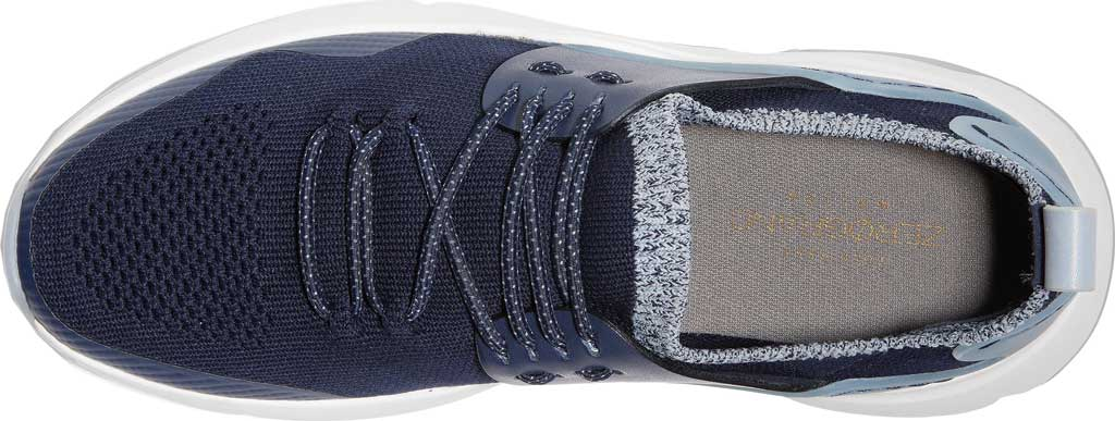 Women's Cole Haan ZEROGRAND All Day Trainer, Maritime Blue Knit/Leather, large, image 4