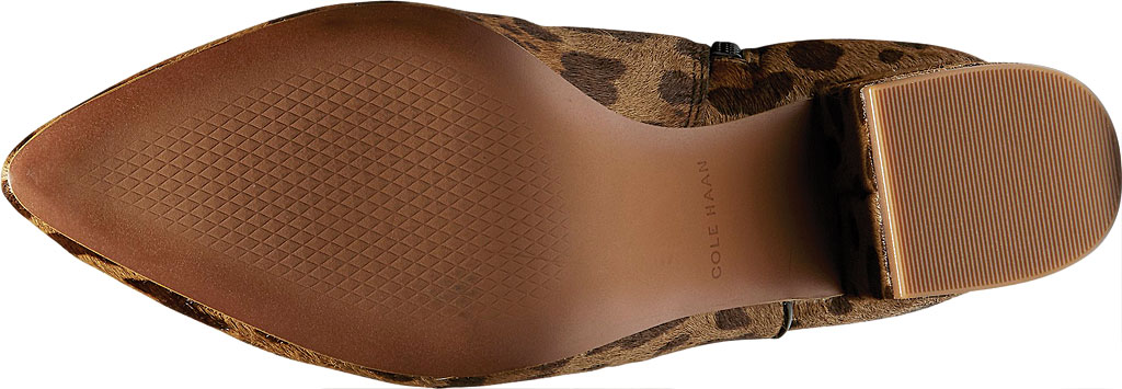 Women's Cole Haan Elyse Ankle Bootie, Toasted Coconut Leather Combo/Ocelot, large, image 5