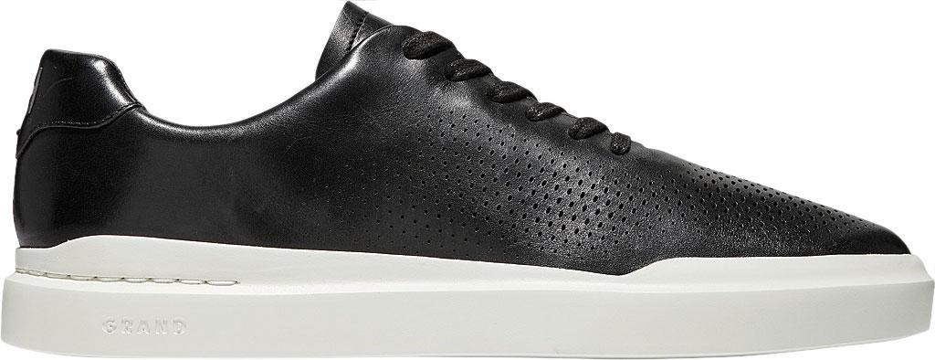 Men's Cole Haan GrandPro Rally Laser Cut Sneaker, Black/Tan Leather, large, image 2