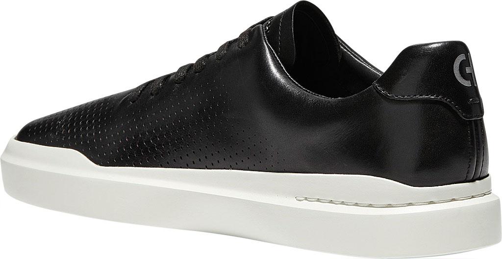 Men's Cole Haan GrandPro Rally Laser Cut Sneaker, Black/Tan Leather, large, image 3