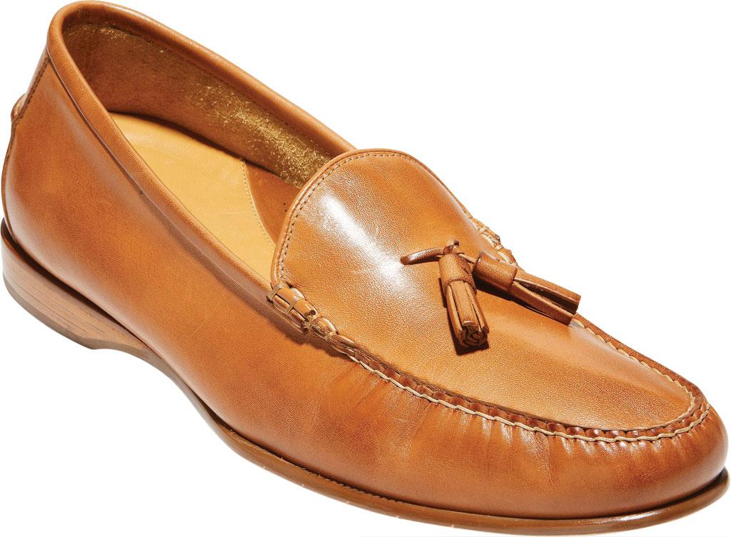 Men's Cole Haan Hayes Tassel Kiltie Loafer, Saddle Tan Leather, large, image 1