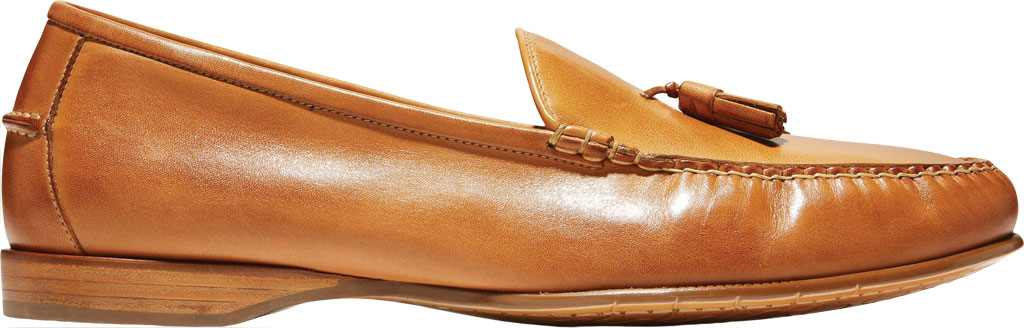 Men's Cole Haan Hayes Tassel Kiltie Loafer, Saddle Tan Leather, large, image 2