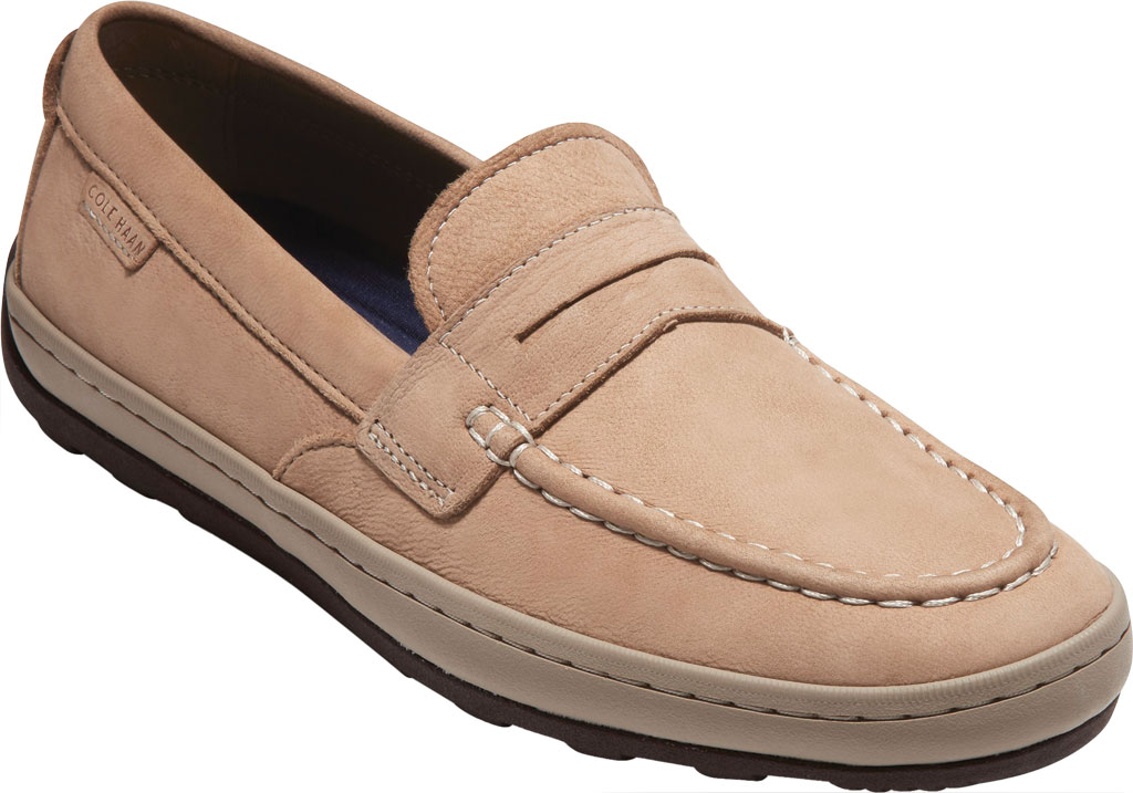 Men's Cole Haan Claude Penny Loafer, Amphora Textile/Leather, large, image 1