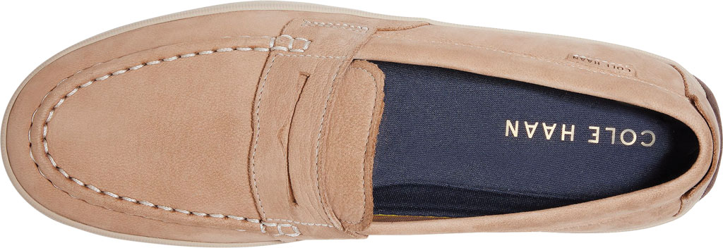 Men's Cole Haan Claude Penny Loafer, Amphora Textile/Leather, large, image 4