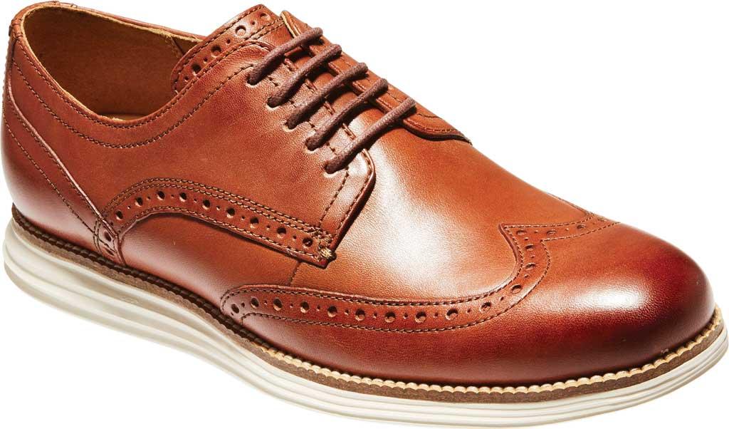 Men's Cole Haan Original Grand Wingtip Oxford, Woodbury/Ivory Leather, large, image 1