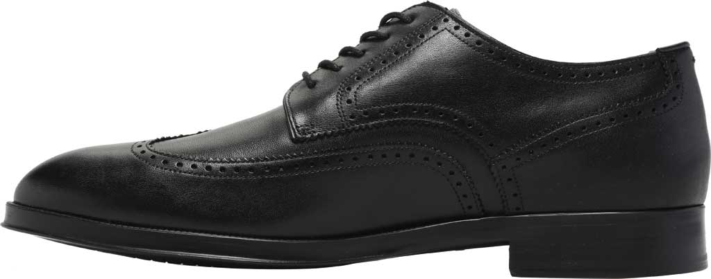 Men's Cole Haan Dawson Grand 360 Wing Tip Oxford, Black Waterproof Leather, large, image 3