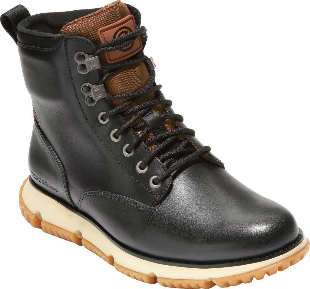 Men's Cole Haan 4.ZEROGRAND City Waterproof Boot, Black Waterproof Leather/Lambswool, large, image 1