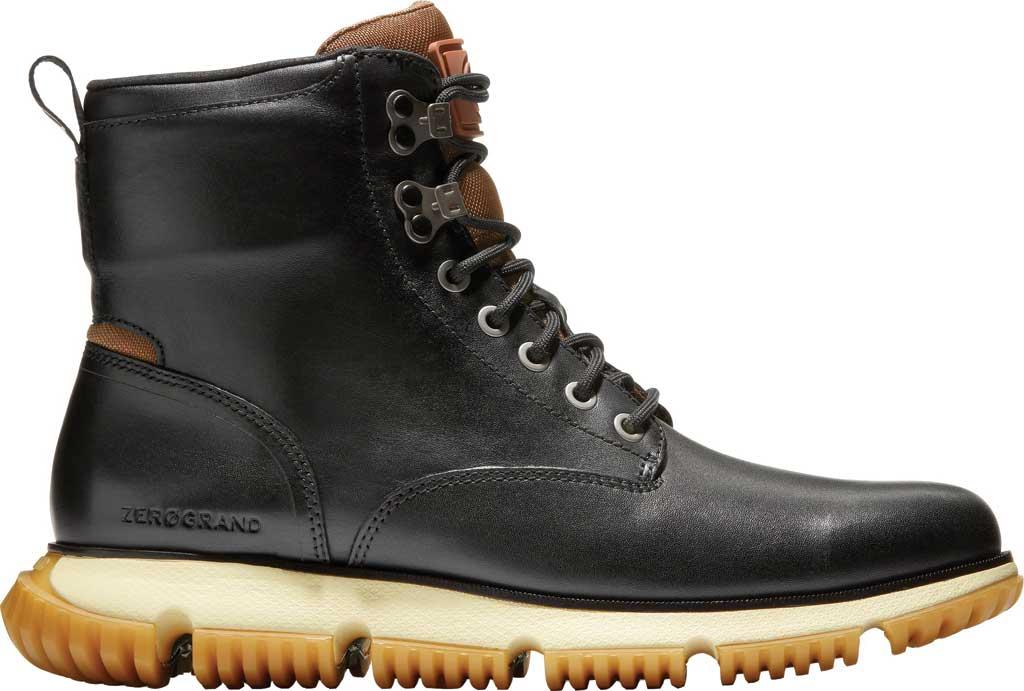 Men's Cole Haan 4.ZEROGRAND City Waterproof Boot, Black Waterproof Leather/Lambswool, large, image 2