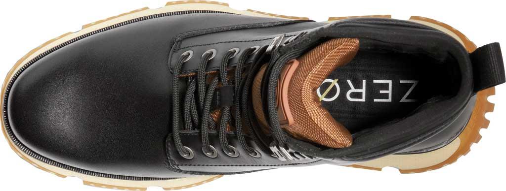 Men's Cole Haan 4.ZEROGRAND City Waterproof Boot, Black Waterproof Leather/Lambswool, large, image 4