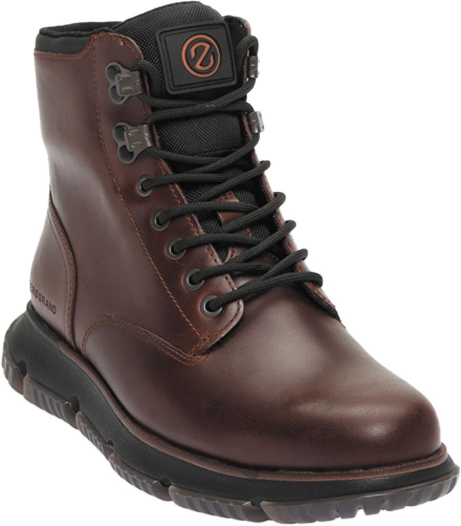 Men's Cole Haan 4.ZEROGRAND City Waterproof Boot, Earthen/Black Waterproof Leather, large, image 1