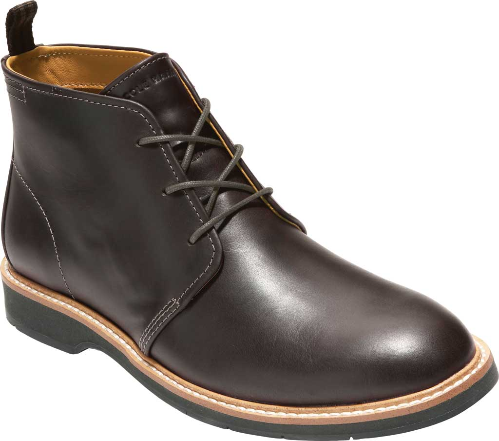 Men's Cole Haan Morris Chukka Boot, Black/Olive Leather, large, image 1