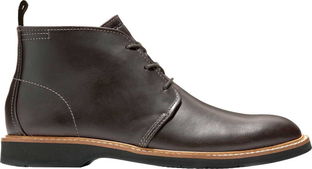 Men's Cole Haan Morris Chukka Boot, Black/Olive Leather, large, image 2