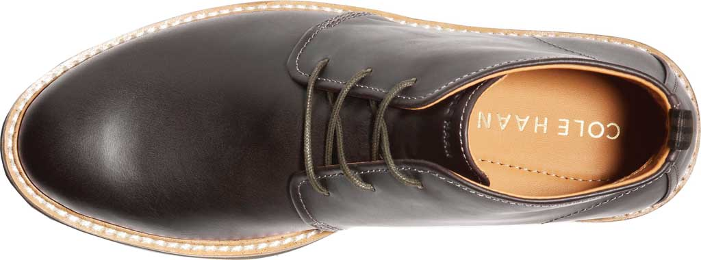 Men's Cole Haan Morris Chukka Boot, Black/Olive Leather, large, image 4