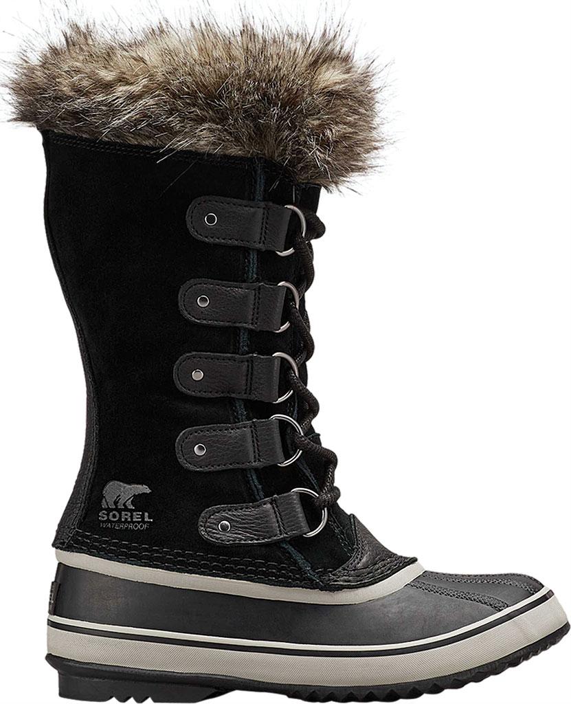Women's Sorel Joan Of Arctic Lace Boot, Black/Quarry Suede, large, image 2