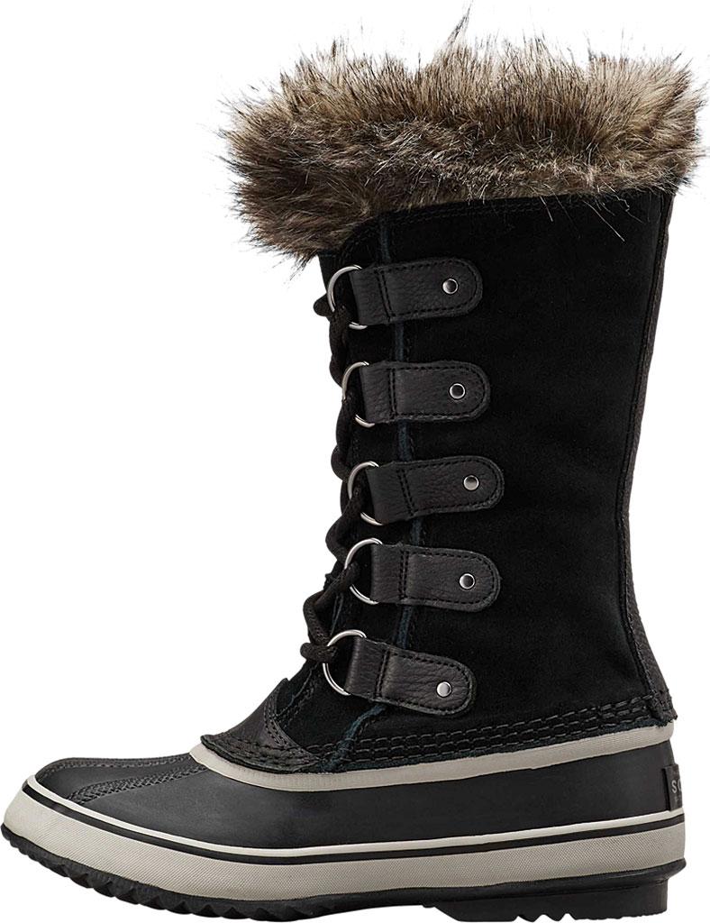 Women's Sorel Joan Of Arctic Lace Boot, Black/Quarry Suede, large, image 3