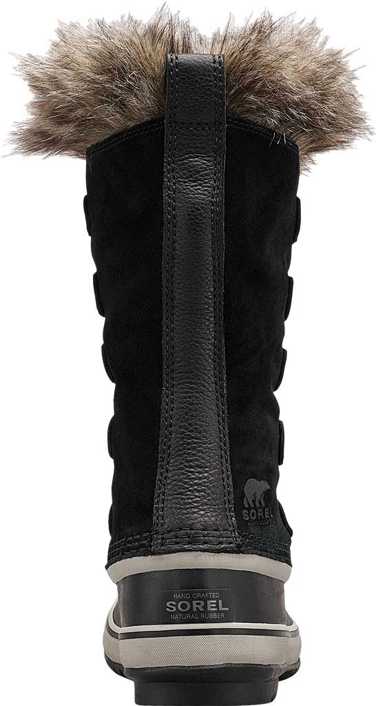 Women's Sorel Joan Of Arctic Lace Boot, Black/Quarry Suede, large, image 4