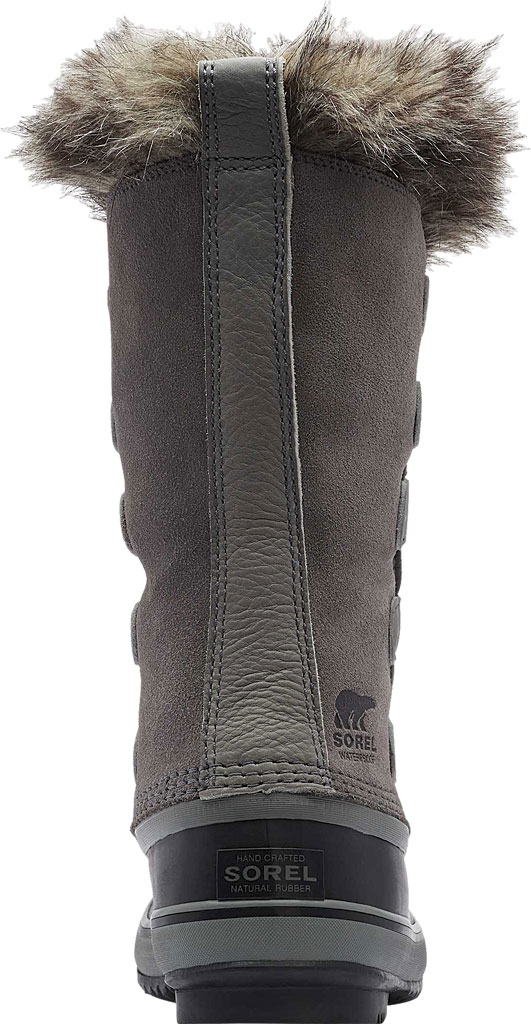 Women's Sorel Joan Of Arctic Lace Boot, Quarry/Black Suede, large, image 4