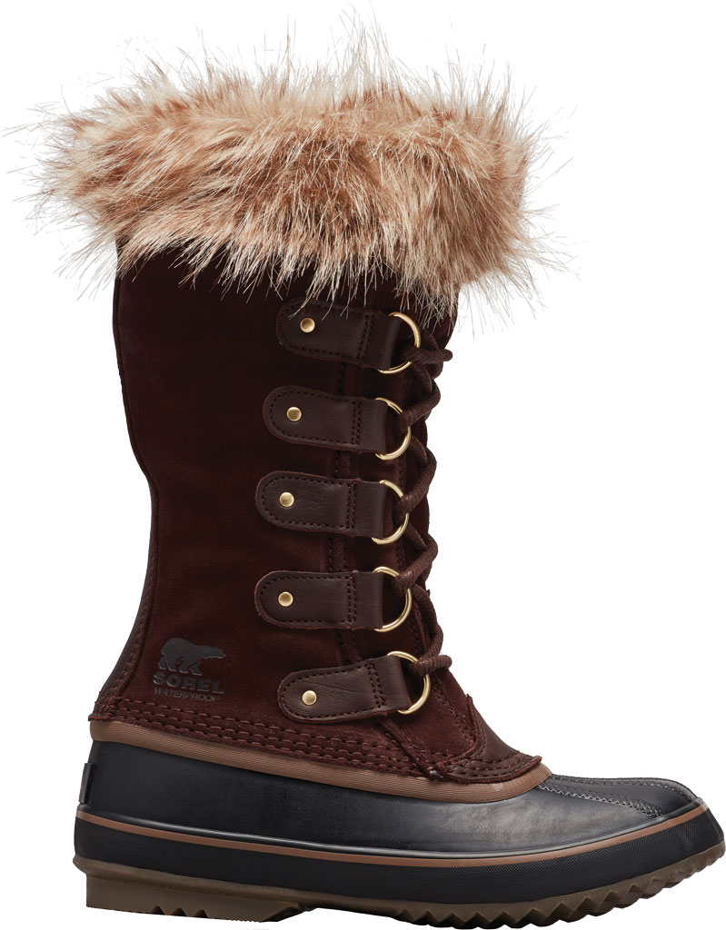 Women's Sorel Joan Of Arctic Lace Boot, Cattail/Black Suede, large, image 1