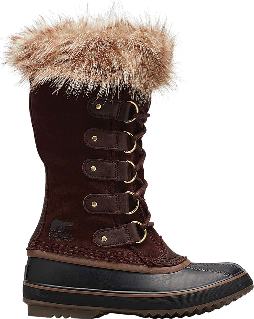 Women's Sorel Joan Of Arctic Lace Boot, Cattail/Black Suede, large, image 2