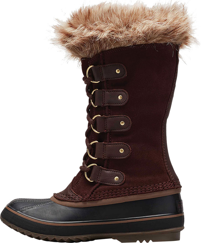 Women's Sorel Joan Of Arctic Lace Boot, Cattail/Black Suede, large, image 3