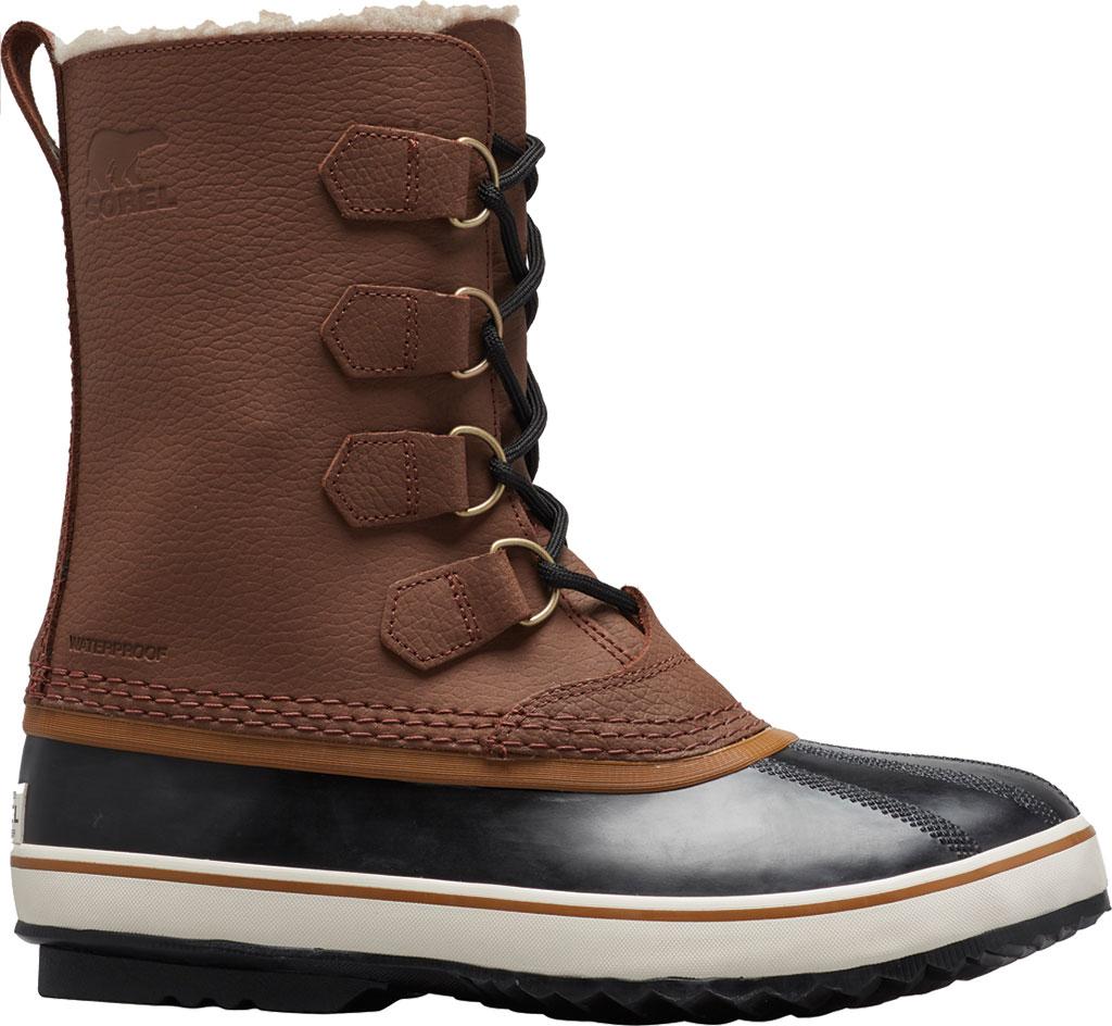 Men's Sorel 1964 Pac T Boot, Hickory/Black Full Grain Leather, large, image 1