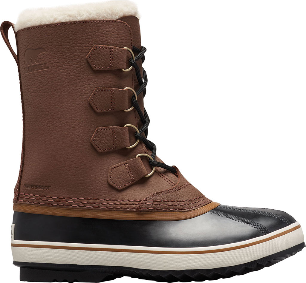 Men's Sorel 1964 Pac T Boot, Hickory/Black Full Grain Leather, large, image 2
