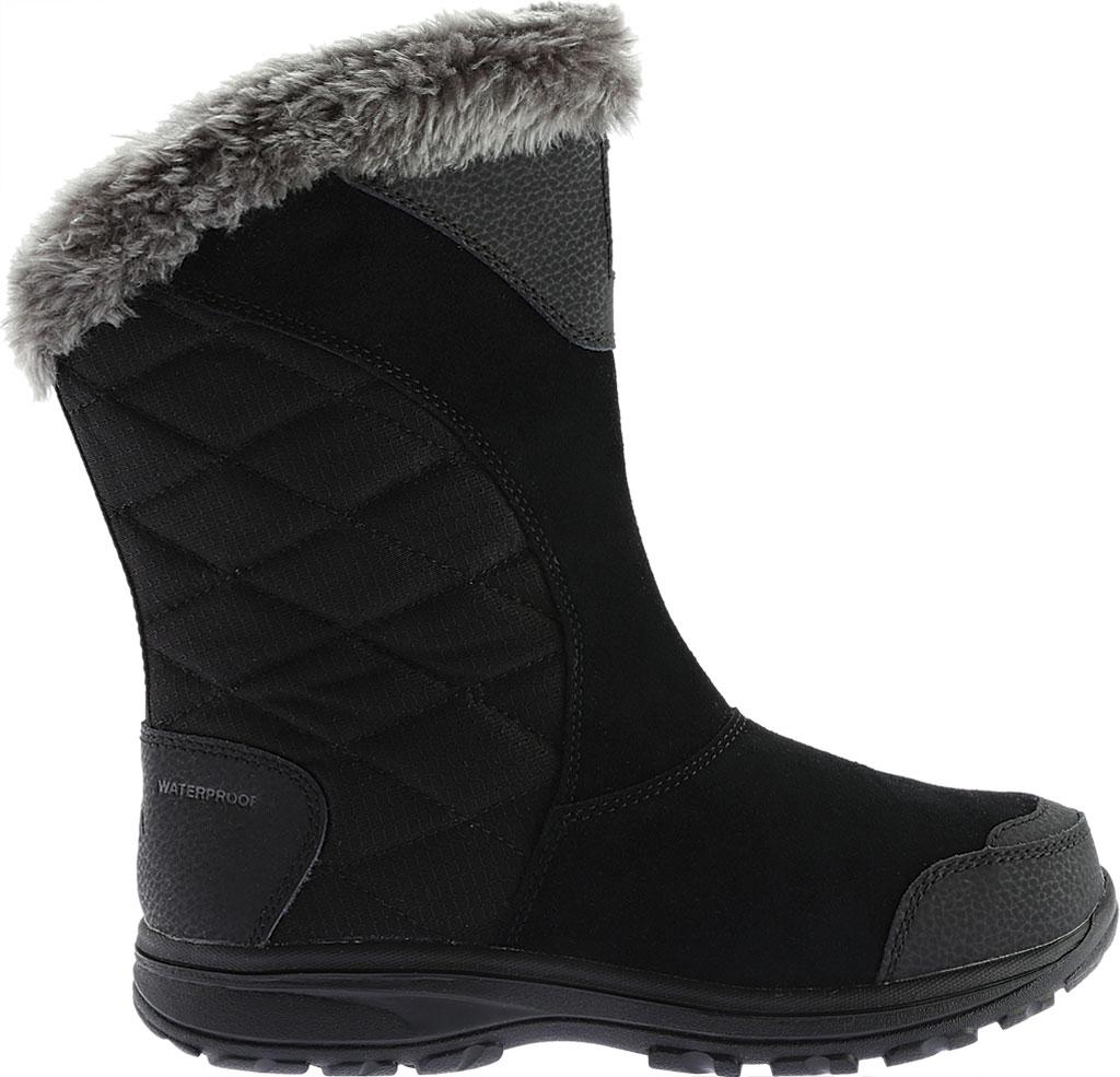 Women's Columbia Ice Maiden II Slip Boot, Black/Shale, large, image 2