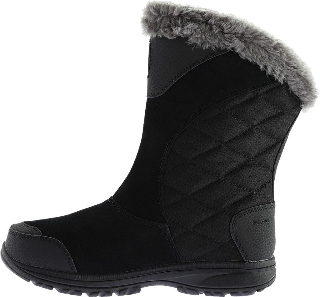Women's Columbia Ice Maiden II Slip Boot, Black/Shale, large, image 3