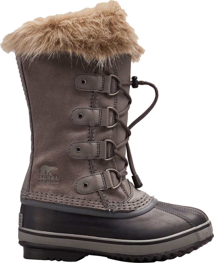 Children's Sorel Youth Joan of Arctic, Quarry Suede, large, image 1
