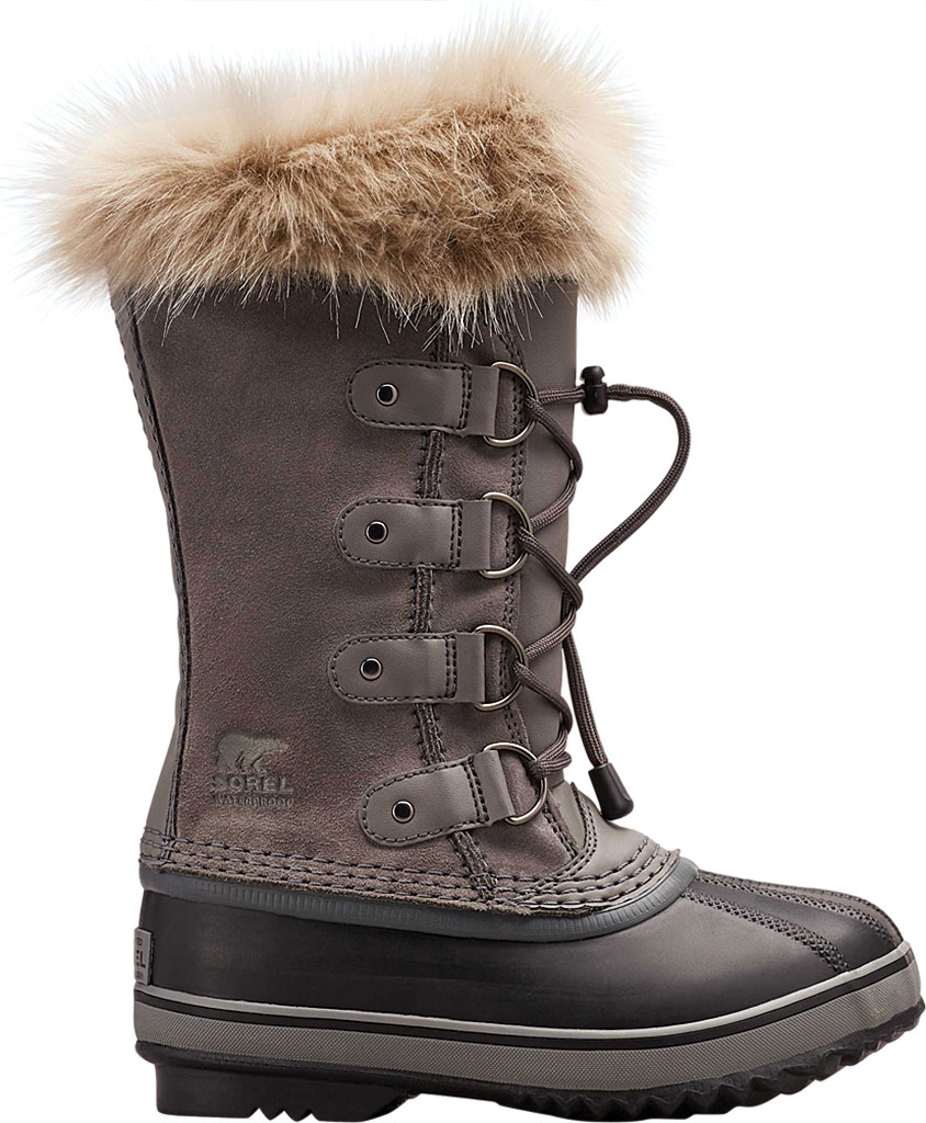 Children's Sorel Youth Joan of Arctic, Quarry Suede, large, image 2