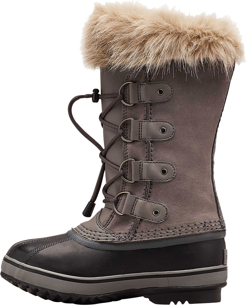 Children's Sorel Youth Joan of Arctic, Quarry Suede, large, image 3