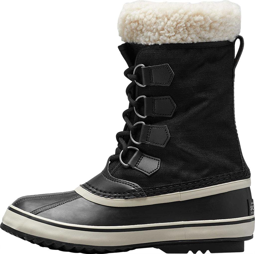 Women's Sorel Winter Carnival Boot, Black/Stone Nylon, large, image 3