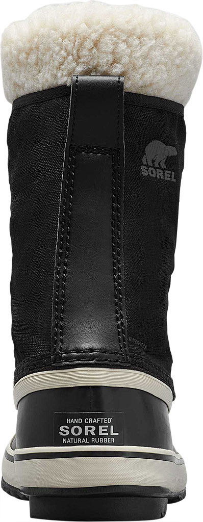 Women's Sorel Winter Carnival Boot, Black/Stone Nylon, large, image 4