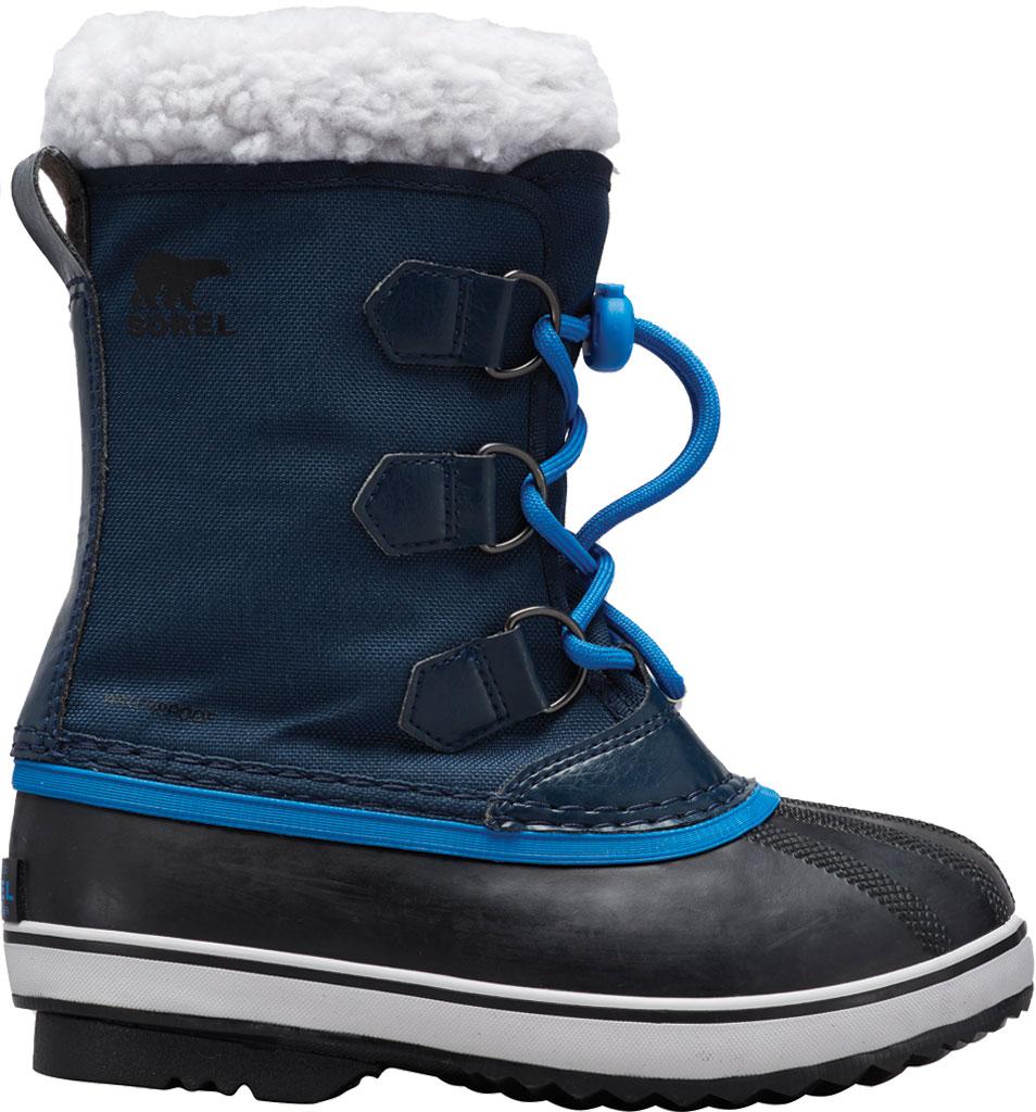 Children's Sorel Youth Yoot Pac Nylon Boot, Collegiate Navy Nylon, large, image 1