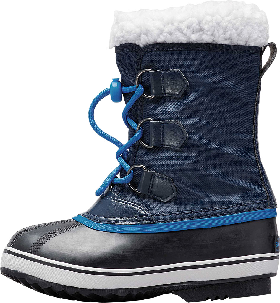 Children's Sorel Youth Yoot Pac Nylon Boot, Collegiate Navy Nylon, large, image 3