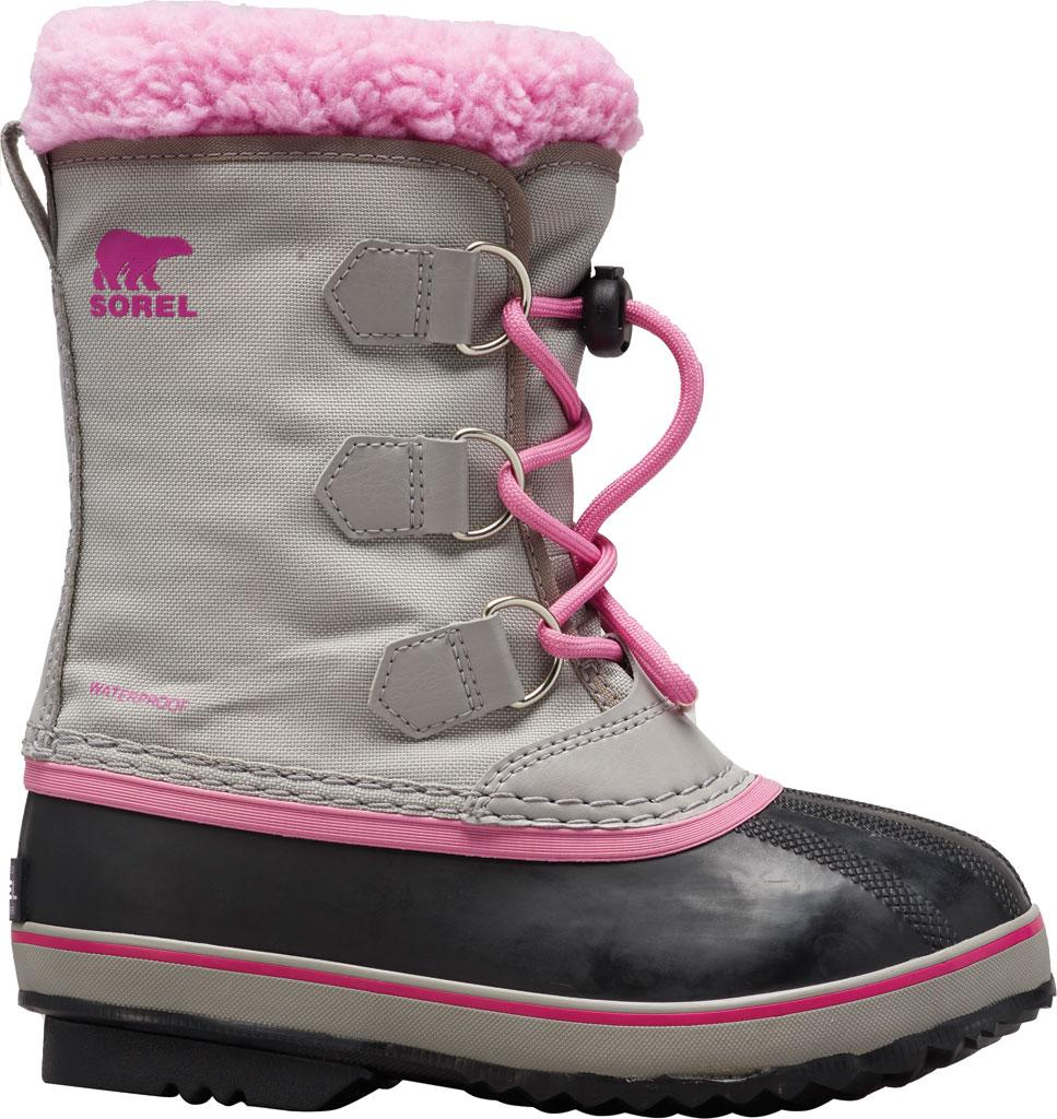 Children's Sorel Youth Yoot Pac Nylon Boot, Chrome Grey Nylon, large, image 1