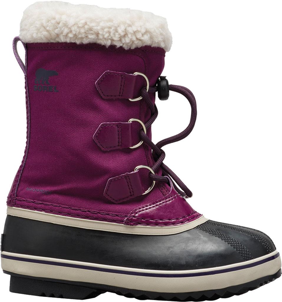 Children's Sorel Youth Yoot Pac Nylon Boot, Wild Iris/Dark Nylon, large, image 1