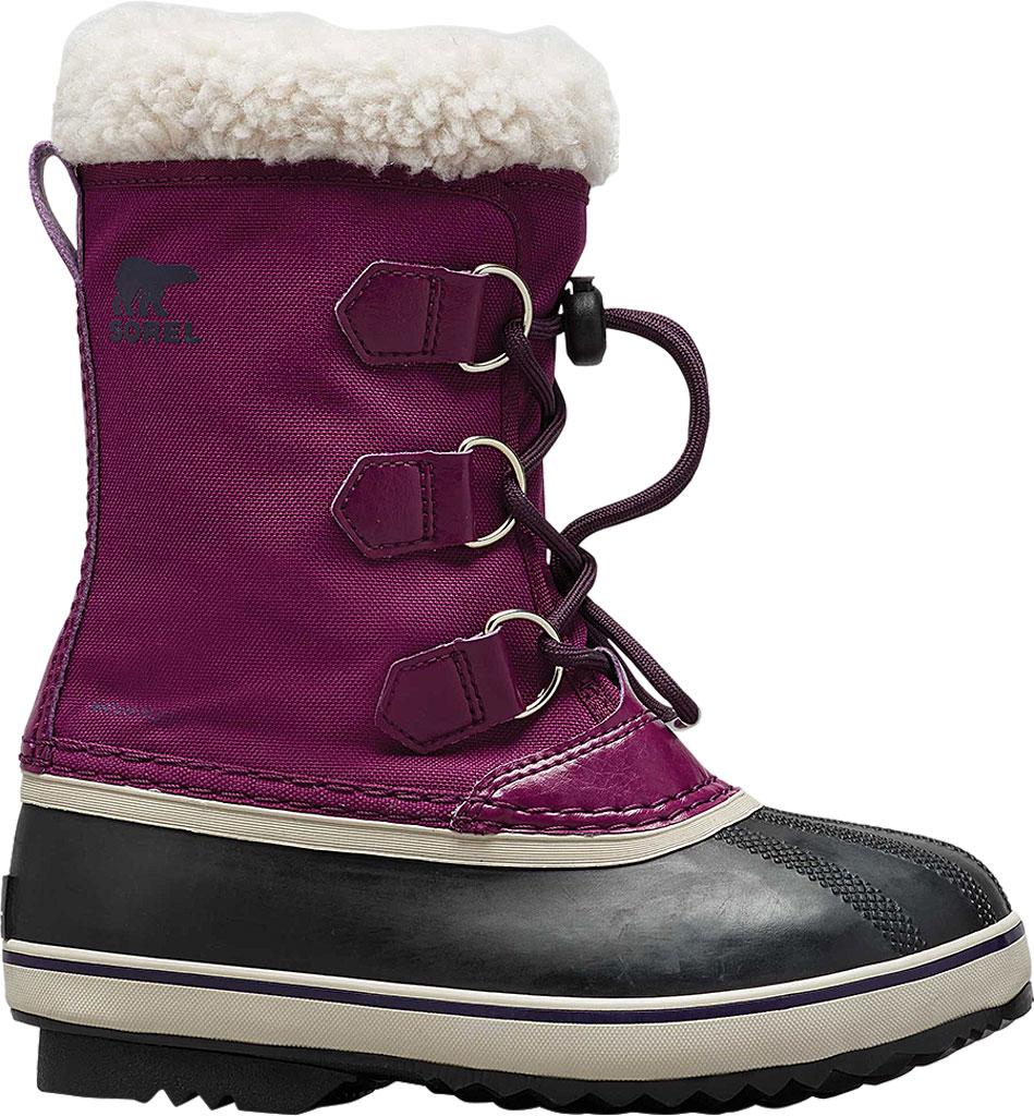 Children's Sorel Youth Yoot Pac Nylon Boot, Wild Iris/Dark Nylon, large, image 2