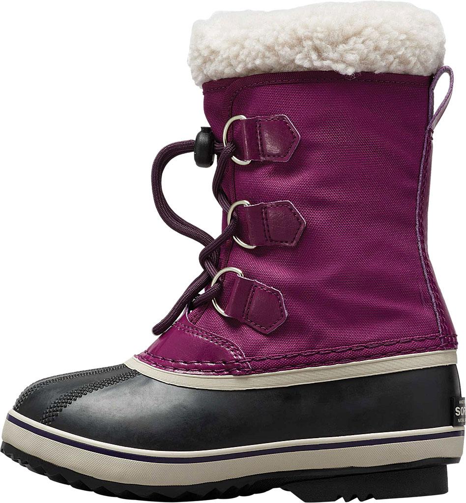 Children's Sorel Youth Yoot Pac Nylon Boot, Wild Iris/Dark Nylon, large, image 3