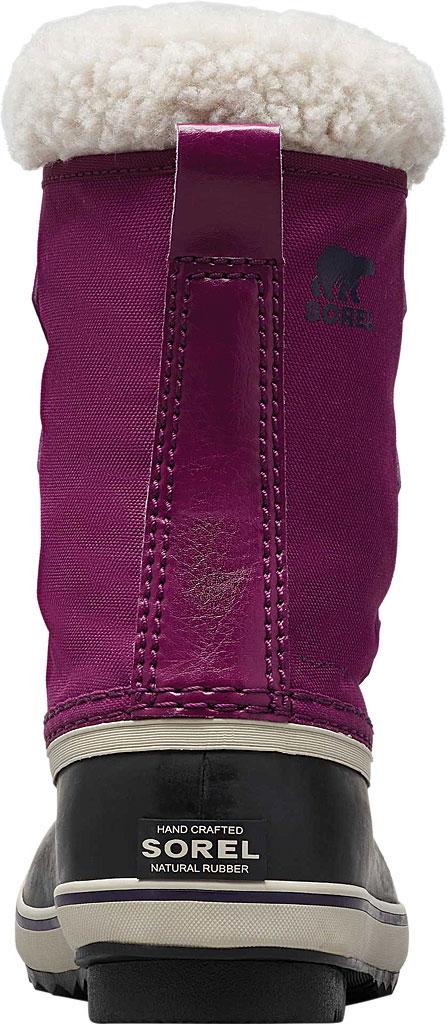 Children's Sorel Youth Yoot Pac Nylon Boot, Wild Iris/Dark Nylon, large, image 4