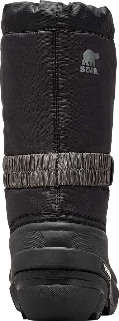 Children's Sorel Youth Flurry Boot, Black/City Grey Synthetic/Textile, large, image 4