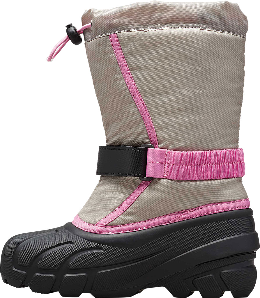 Children's Sorel Youth Flurry Boot, Chrome Grey Synthetic/Textile, large, image 3