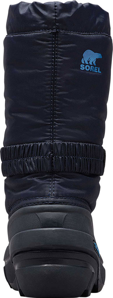 Children's Sorel Youth Flurry Boot, Collegiate Navy Synthetic/Textile, large, image 4